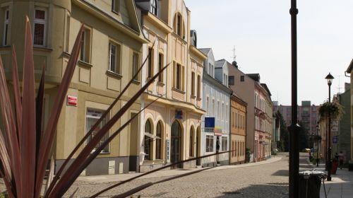 Historisches Zentrum der Stadt Chodov