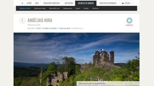 Ruine Andělská Hora