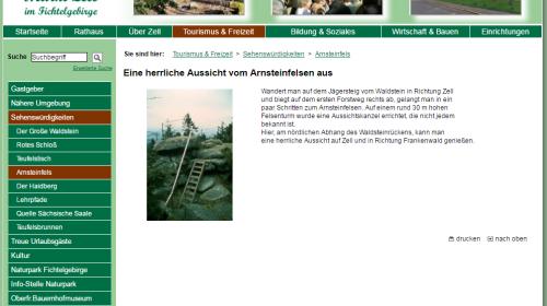 Aussichtspunkt Arnsteinfels