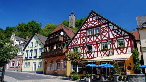 Bad Berneck im Fichtelgebirge