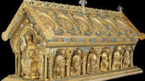 Das Reliquiar des heiligen Maurus