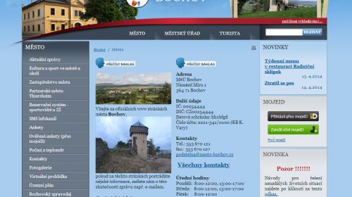 Tourist-Information Bochov