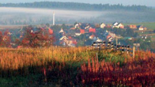 Stadt Gottesbag (Boží Dar), die höchstgelege Stadt in der Tschechischen Republik
