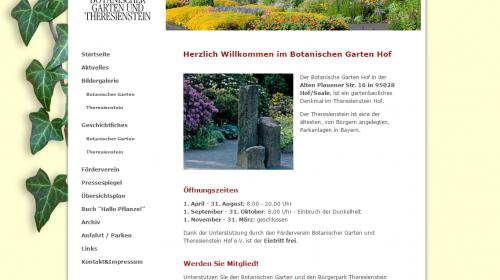 Botanische Garten Hof