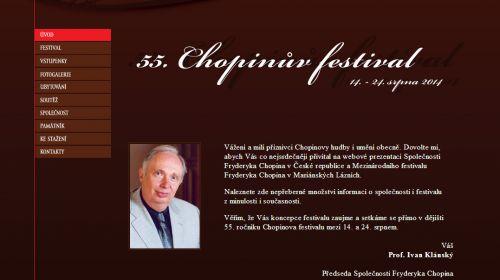 Chopin-Festival in Marienbad (Mariánské Lázně)