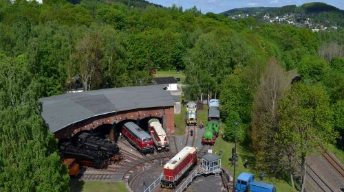 Eeisenbahnmuseum Schwarzenberg