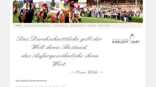 Europäisches Treffen des Adels in Karlsbad
