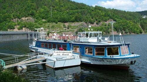 Fahrgastschifffahrt Hohenwarte
