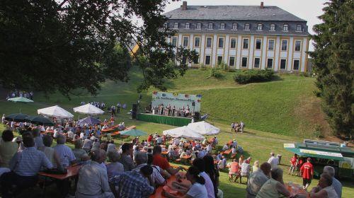 Schloss- und Mühlenfest / Blasmusikfest