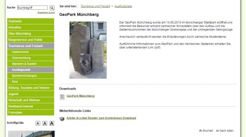 Geopark Münchberg