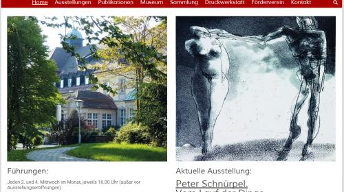 Grafik Museum Stiftung Schreiner