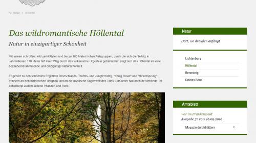 Höllental Lichtenberg