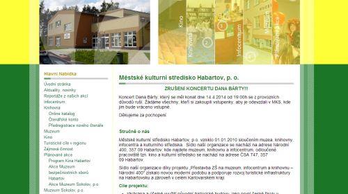 Tourist-Information MKS Habartov