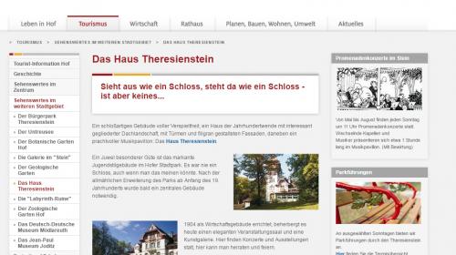 Haus Theresienstein