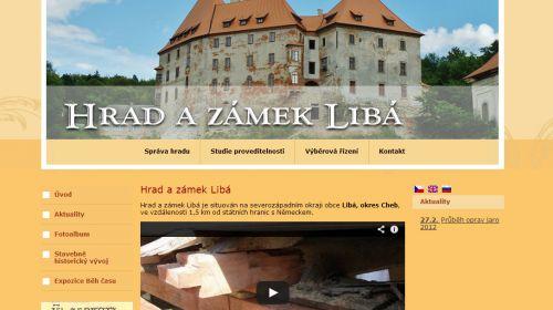 Burg und Schloss Libá