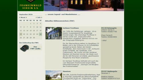 Informationspunkt Bergbau und Geologie im Gerlaser Forsthaus