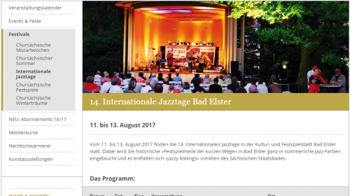 Internationale Jazztage Bad Elster