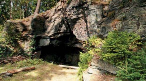 Höhle bei Svatava (Jeskyně u Svatavy)