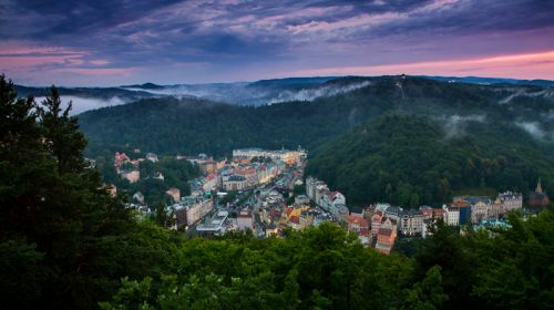 Karlsbad (Karlovy Vary), der grösste Kurort Tschechiens