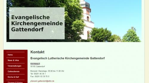 Historische Kirche Gattendorf