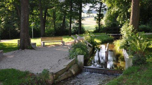 Kurpark und Schlossterrassen Bad Alexandersbad