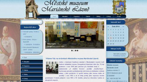 Städtisches Museum Marienbad (Mariánské Lázně)