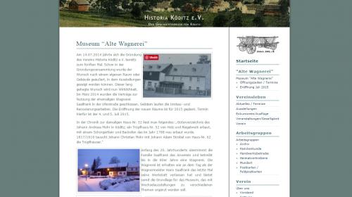 Museum Alter Wagnerei - Köditz