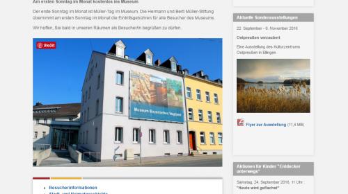 Museum Bayerisches Vogtland - Hof