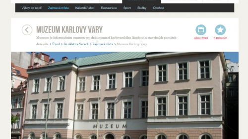 Museum Karlsbad (Karlovy Vary)