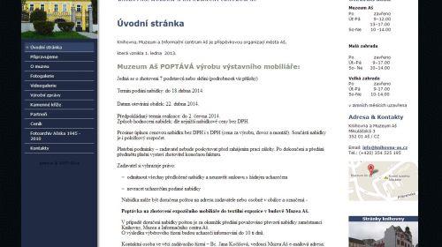 Völkerkundliches und Textilmuseum Asch (Aš)