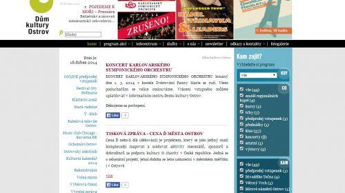 Tourist-Information und Alte Rathaus Ostrov