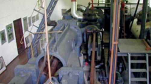 Die grösste und stärkste Dampfmaschine Europas