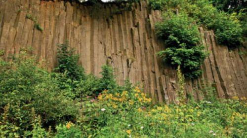 ND Basaltorgel bei Leimgruben (Čedičové varhany u Hlinek)