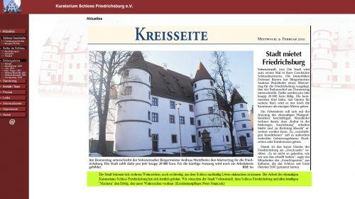 Renaissanceschloss Friedrichsburg
