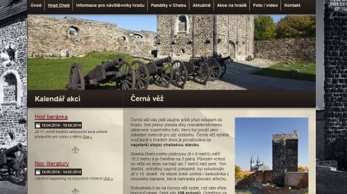 Schwarzer Turm der Egerer Burg