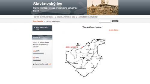 Aussichtsturm Krudum bei Horní Slavkov
