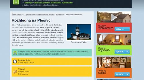 Aussichtsturm Plešivec