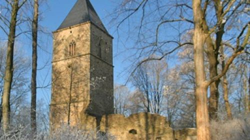 Ruine der Wallfahrtskirche St. Katharina