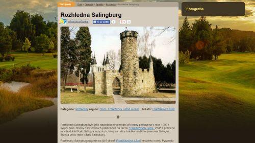 Salingburg in Franzensbad