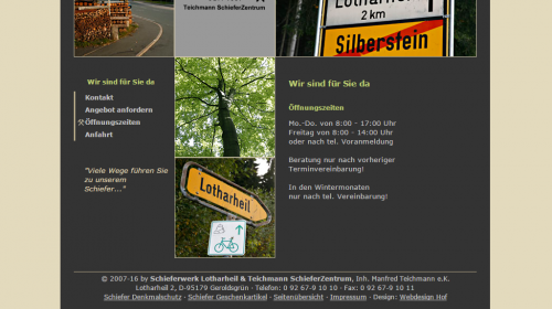 Schieferbergwerk - Geroldsgrün