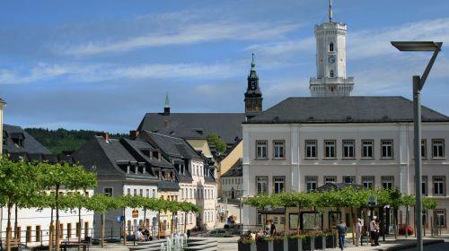Marktplatz Schneeberg