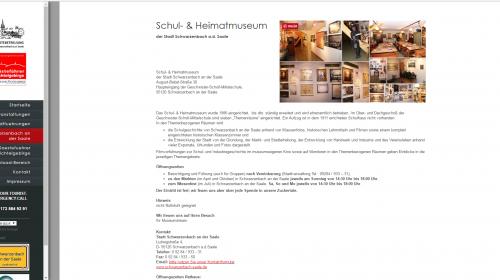 Schulmuseum Schwarzenbach / Saale
