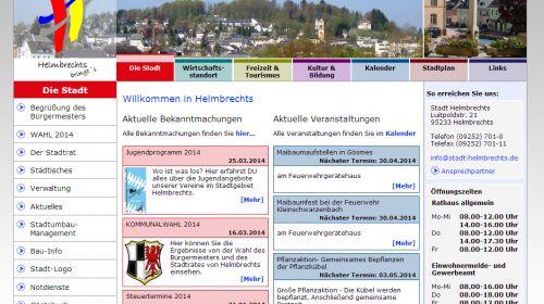 Stadt Helmbrechts - Fremdenverkehrsamt