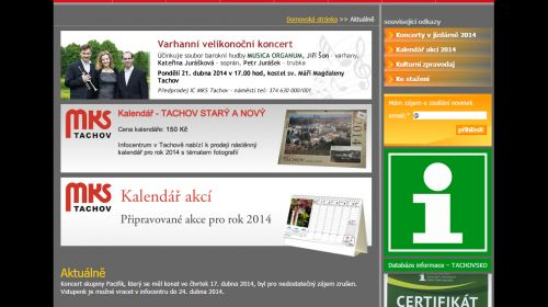 Tourist-Information Tachov