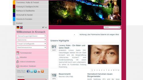Tourismus- und Veranstaltungsbetrieb der Stadt Kronach
