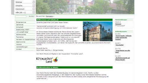 Touristinformation Mitwitz