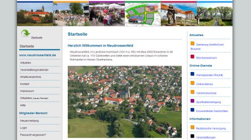Touristinformation Neudrossenfeld