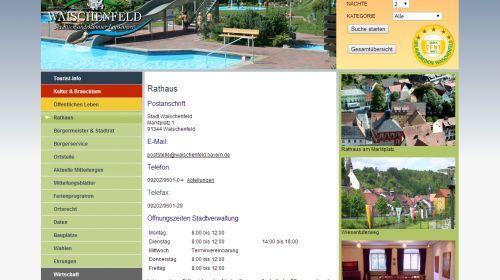 Touristinformation Waischenfeld