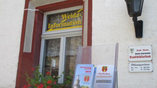 Tourist - Information Stadt Weida