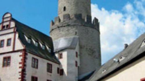 Der 'Bergfried der Osterburg zu  Weida'